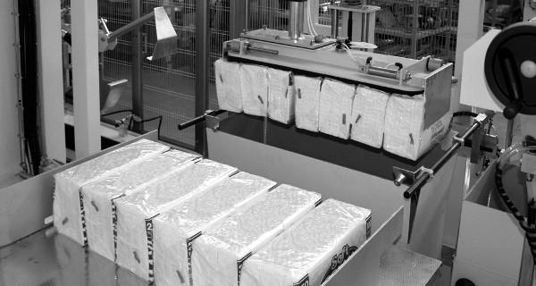 MICROLINE: Incartonatrice RVM | Encartonneuse verticale pour serviettes | Vertikale Kartoniermaschine für Servietten