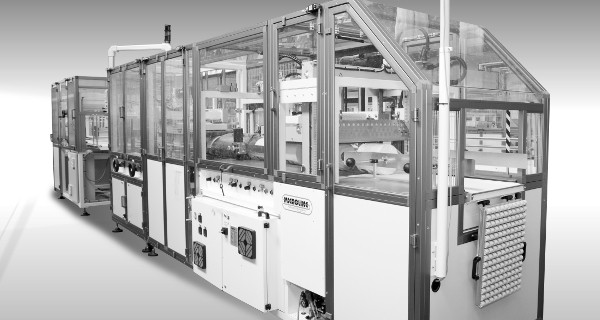 MICROLINE: Confezionatrice automatica con film termoretraibile per rotoli in carta | Automatic shrink-wrapping machine for paper rolls