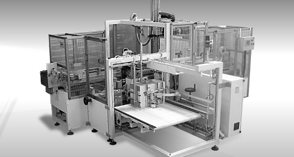 MICROLINE Food: Incartonatrice con sistema di riempimento in Verticale | Case Packer with Top-Filling system | Encartonneuse à remplissage Vertical