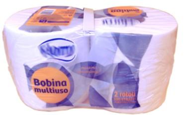 MICROLINE: Confezione di Rotoli in carta AFH | Packaging of AFH Paper Rolls | Empaque de rollos de papel AFH