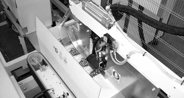 MICROLINE: Incartonatrice RVM a riempimento verticale  del cartone | Vertical (top-loading) case packer | embaladora en cajas con llenado vertical  de la caja