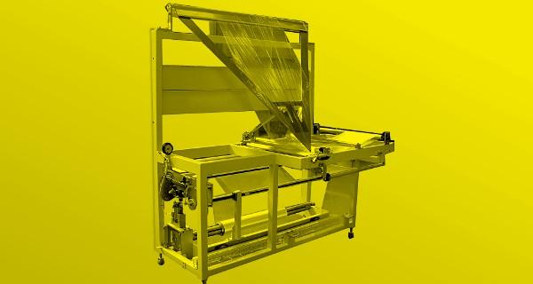 MICROLINE: Monopiegatore per bobina a foglia piana | Centre Folding for flat sheet reel | Dispositif de Mono-Pliage | Faltvorrichtung für flachfolie auf der rolle | Monoplegador
