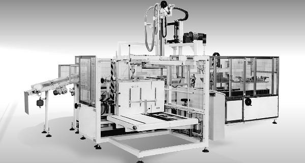 MICROLINE: Incartonatrice verticale per rotoli | Vertical case packer for paper rolls | Embaladora en cajas en vertical para rollos