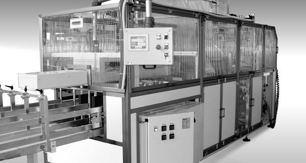 MICROLINE: Insaccatore Flow Wrap 1000 | Automatic Bundler | Ensacheuse Automatique | Mehrfachverpackungsmachine | Embolsadora Automática