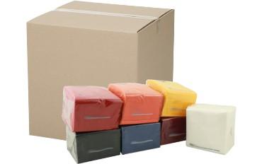 MICROLINE: Incartonatrice verticale per tovaglioli | Vertical case packer for paper napkins | Embaladora en cajas en vertical para servilletas