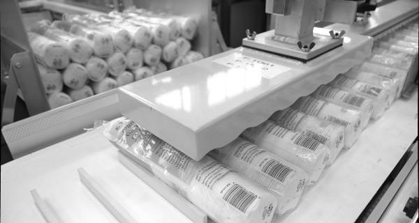 MICROLINE: Incartonatrice Orizzontale Per Discetti struccanti in Cotone | Encartonneuse Horizontal pour produits Coton Et Autres