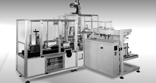 MICROLINE: Incartonatrice RVM a riempimento Verticale per Cotone | RVM vertical (top-loading) case packer for Cotton products